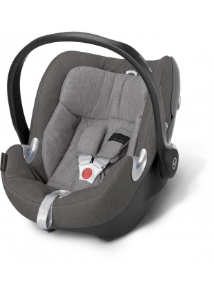 Cybex Aton Q Plus Manhattan Grey Babyschale