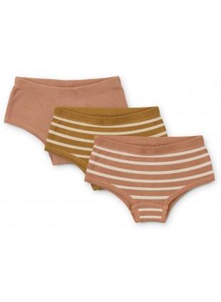 Liewood Unterhosen Set Nicky Stripe Tuscany Rose Multi Mix