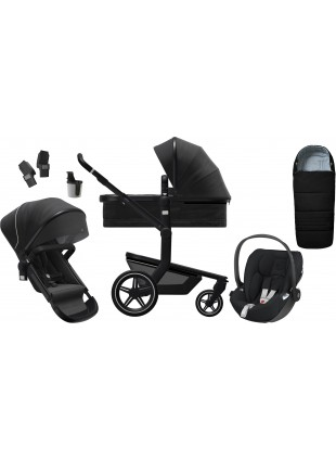 Joolz Day+ Brilliant Black Kinderwagen Set L