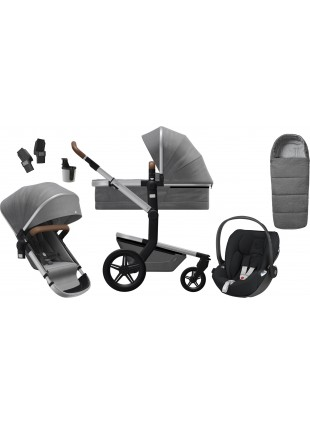 Joolz Day+ Radiant Grey Kinderwagen Set L