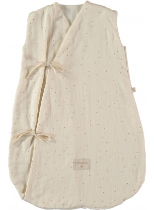 Nobodinoz Sommer-Schlafsack Dreamy 0-6 Monate Honey Sweet Dots Natural