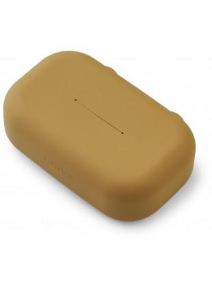 Liewood Silikon Feuchttücher-Box Emi Golden Caramel