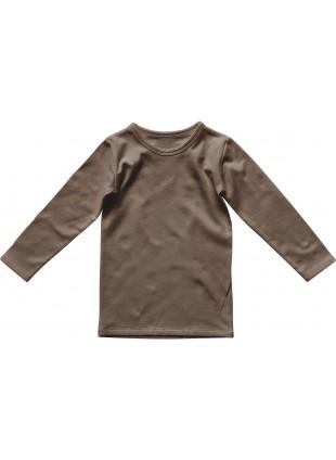 The Simple Folk Langarm-Shirt Everyday Walnut