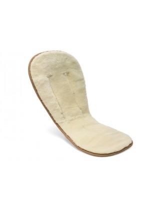 Bugaboo Woll-Sitzauflage off white
