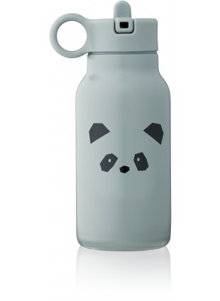 Liewood Edelstahl Trinkflasche Falk Panda Blue Fog 250 ml