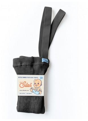 Silly Silas Strumpfhose mit Trägern (ohne Fuß) Dark Grey Blend