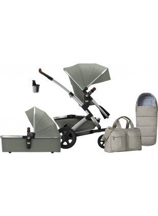 Joolz Geo 2 Earth Elephant Grey Mono Kinderwagen Set M