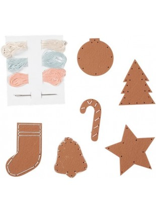 Fabelab Minimakers DIY Bastel-Set Gingerbread Cookies - Kleine Fabriek