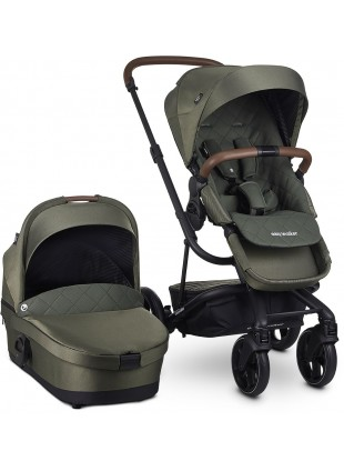 Easywalker Harvey 3 Premium Kinderwagen Set Emerald Green