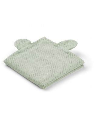 Liewood Mullwindel Windeltücher Set Hannah Mr. Bear Little Dot Dusty Mint - Kleine Fabriek