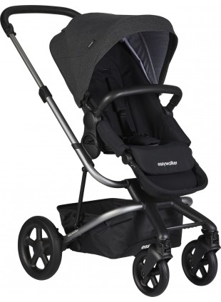 Buggy Easywalker Harvey 2 Platinum/Night Black kaufen - Kleine Fabriek