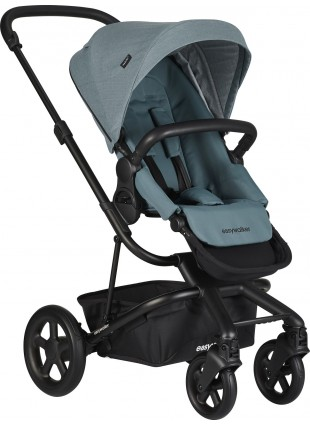 Easywalker Harvey 2 Buggy Schwarz - Ocean Blue