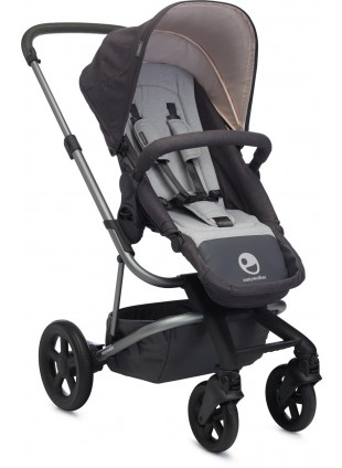Easywalker Buggy Harvey Coal Black - Kleine Fabriek
