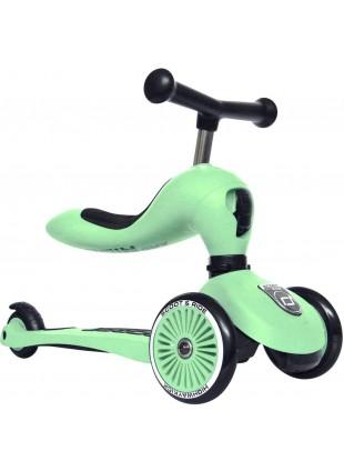 Highwaykick 1 Scoot & Ride 2in1 Laufrad Roller Kiwi - Kleine Fabriek