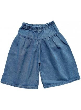 The Simple Folk Jeans-Hose Culotte Light Denim