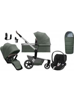 Joolz Hub+ Marvellous Green Kinderwagen Set L