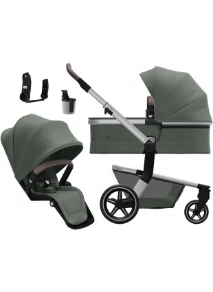 Joolz Hub+ Marvellous Green Kinderwagen Set S