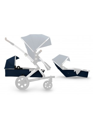 Joolz Geo 2 Earth Duo & Twin Erweiterungsset Parrot Blue - Kleine Fabriek