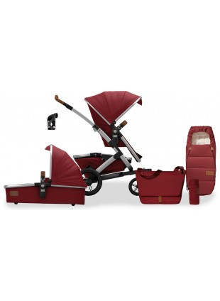 Joolz Geo Earth Lobster Red Mono Kinderwagen Set M