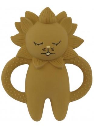 Konges Sløjd Beißring Löwe Gelb