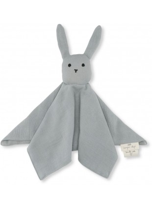 Konges Sløjd Schmusetuch Sleepy Rabbit French Blue