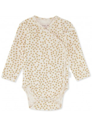 Buttercup Yellow Baby-Body Konges Sløjd - Kleine Fabriek