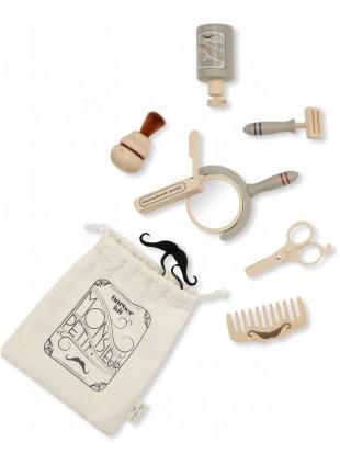 Konges Sløjd Holz-Spielzeug Barbier-Set