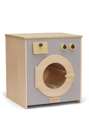 Konges Sløjd Spielzeug-Waschmaschine aus Holz kaufen - Kleine Fabriek