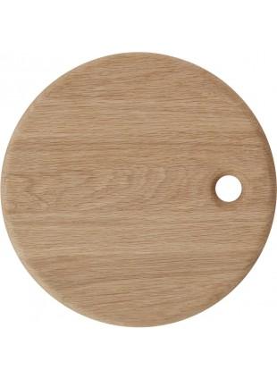 OYOY Holz-Schneidebrett Yumi Eiche rund - Kleine Fabriek