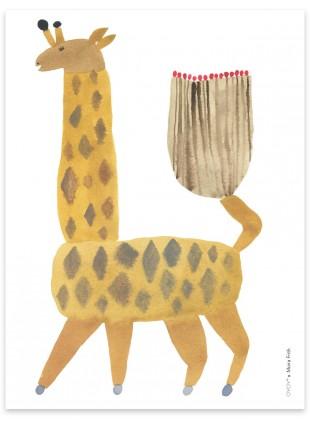 OYOY Poster Giraffe Noah
