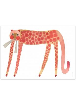 OYOY Poster Erdbeer Katze kaufen - Kleine Fabriek