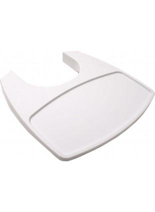 Leander Classic Tisch für Hochstuhl Weiß