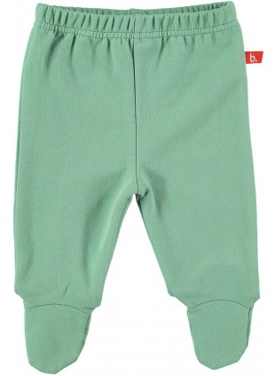 limobasics Babyhose Sweat Moosgrün