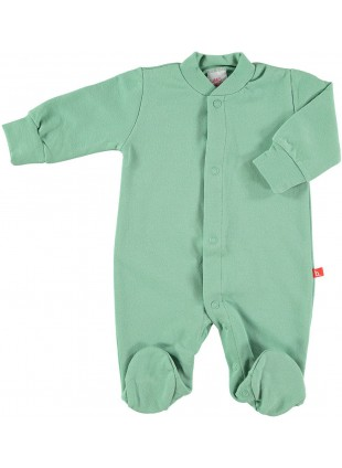 limobasics Baby Sweat Pyjama Moosgrün