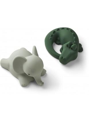 Badespielzeug Vikky Set Safari Green Mix von Liewood kaufen - Kleine Fabriek