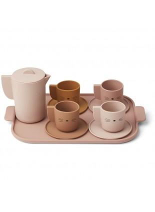 Liewood Silikon Tee-Service Puppengeschirr Ophelia Rose Multi Mix