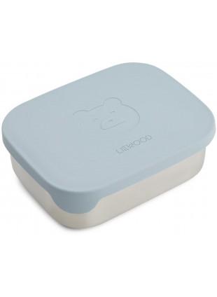 Liewood Edelstahl Lunchbox Sea Blue kaufen - Kleine Fabriek