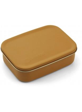Liewood Edelstahl Lunchbox Frühstücksbox Jimmy Mr. Bear Mustard