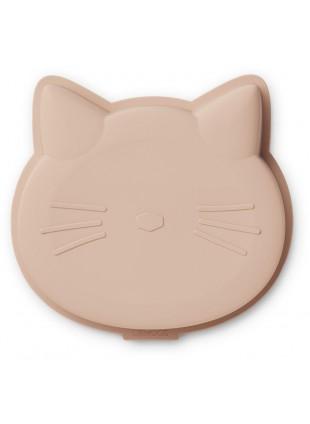 Liewood Silikon Kuchenform Amory Katze Rose