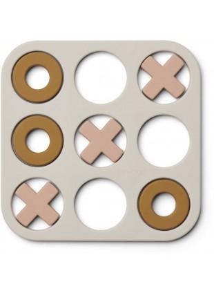 Liewood Spiel Tic Tac Toe Kelsey Sandy Multi Mix