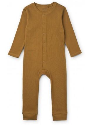 Liewood Overall Pyjama Birk Golden Caramel