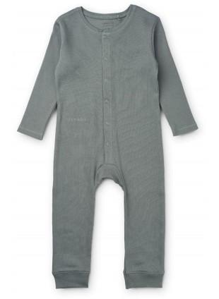 Liewood Overall Pyjama Birk Blue Fog