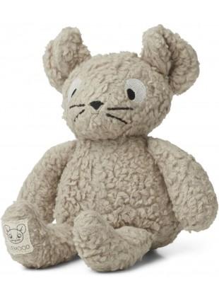 Liewood Kuscheltier Maus Monsieur Pale Grey