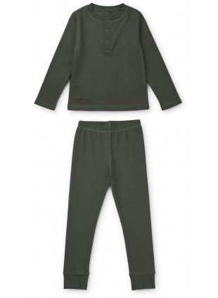 Liewood Pyjama Wilhelm Hunter Green