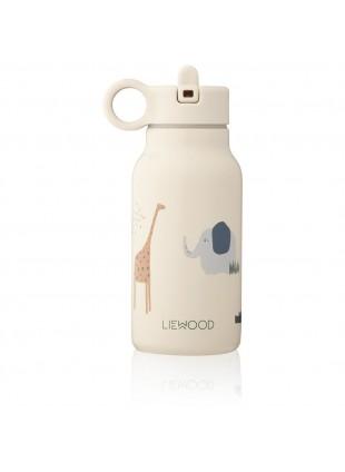 Liewood Edelstahl Trinkflasche Falk Safari Sandy Mix 250 ml