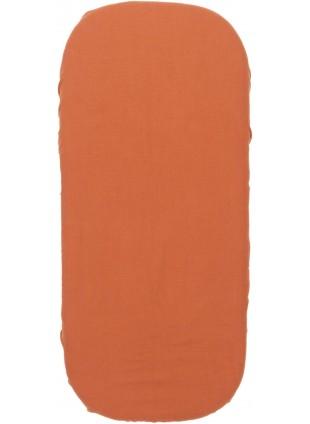 Nobodinoz Spannbettlaken für Wiege 40x80 cm Melody Toffee