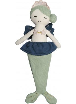 Fabelab Kuscheltier Puppe Meerjungfrau