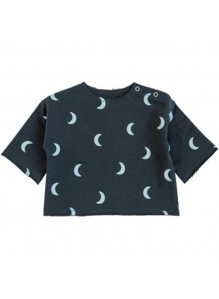 Organic Zoo Layer Baby-Shirt Midnight