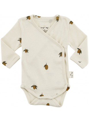 Konges Sløjd Newborn Baby-Body Lemon