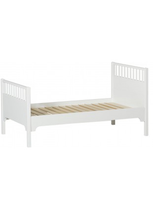 Oliver Furniture Juniorbett / Kinderbett Seaside 90x160 cm Weiß - Kleine Fabriek
